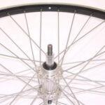 A wiel 28 freewheel vast alu zw